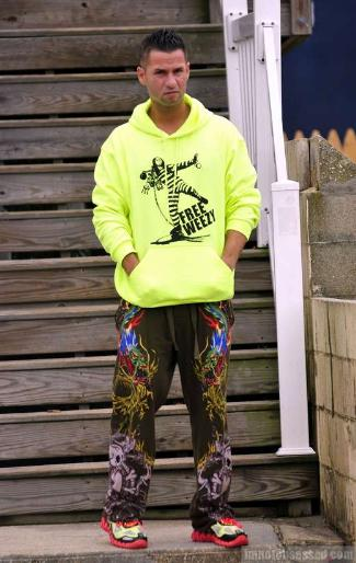 Celebrities Wearing Psychedelic Pants the situation
