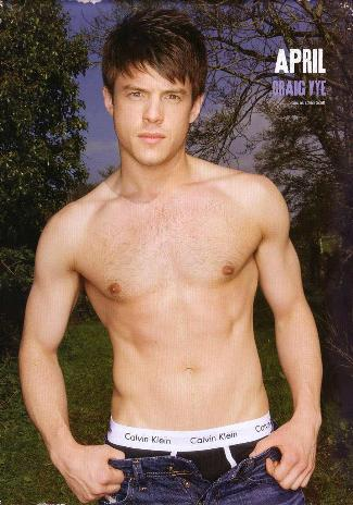 craig vye shirtless hollyoaks