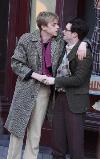daniel radcliffe Dane DeHaan gay kiss