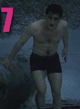 daniel radcliffe deathly hallows - boxers underwear - screencap