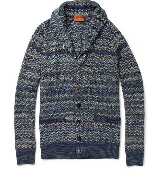 david beckham missoni cardigan