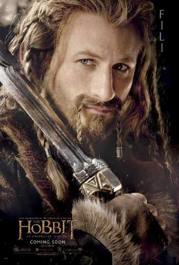 dean o gorman - fili the dwarf - hobbit