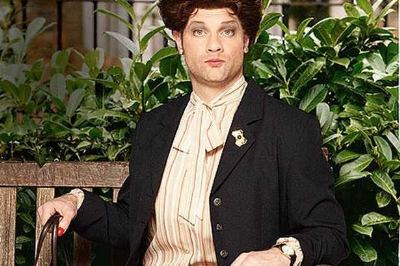 dermot o'leary gay dot cotton - female clothes