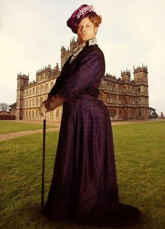 dermot oleary gay - lady grantham- downton abbey