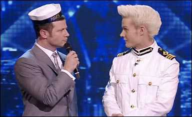 dermot o leary gay sailor hat