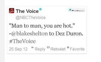 dez duron hot by blake shelton