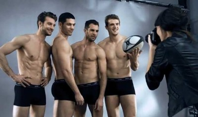 dim 3d flex underwear - rugby hunks as male models