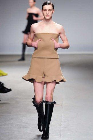 womens dresses for men - brown - no shoulder