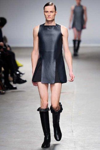 womens dresses for men - little black leather