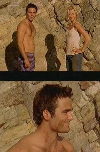 dustin clare shirtless underwear - long johns - mcleods daughters