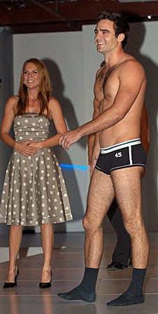 dustin clare underwear model - boxer briefs - with micha