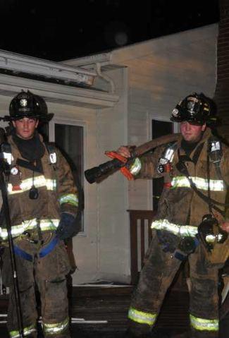 eddie fox fireman in uniform - survivor hunk