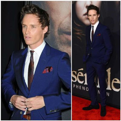 eddie redmayne suits Alexander McQueen Fall Winter 2012 - nyc les miserables premiere