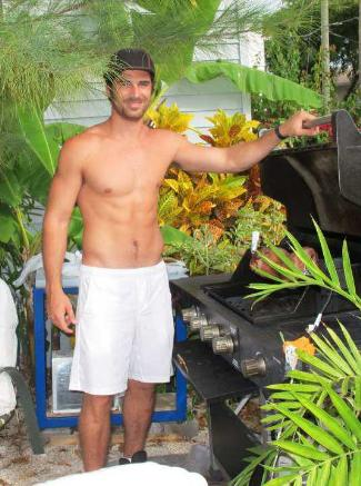 eli pis shirtless cuban hunk