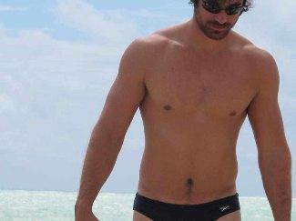 elio pis speedo swimsuit - ala hugh jackman