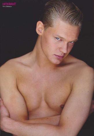 ferry doedens shirtless gay model