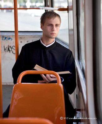 hot priests calendar orthodox