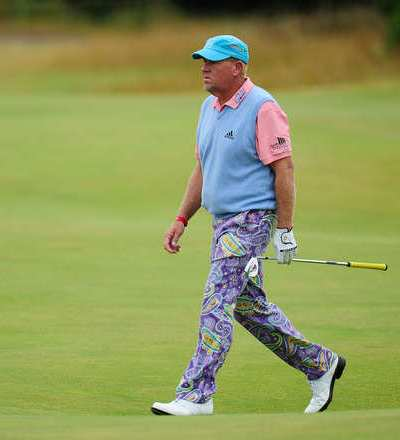 Celebrities Wearing Psychedelic Pants john daly