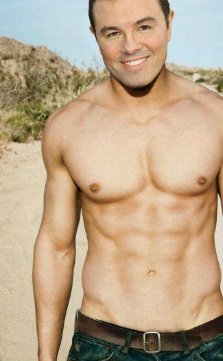 seth macfarlane shirtless - hot body