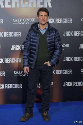puffa jackets for men tom cruise jack reacher spanish premiere