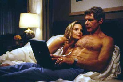 Harrison Ford and Michelle Pfeiffer in What Lies Beneath