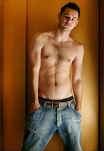 danny dyer shirtless and young