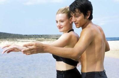 diego luna and Romola Garai - dirty dancing in havana