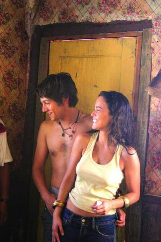 diego luna shirtless - only god knows with alice braga