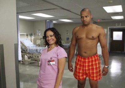 donald faison scrubbs boxers underwear