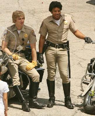 donald faison zach braff - uniform