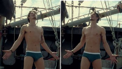eric balfour green briefs underwear