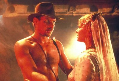 harrison ford shirtless in temple of doom