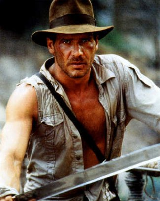 harrison ford shirtless showing chest - temple of doom