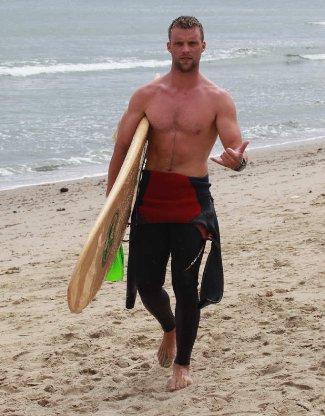 jesse spencer surf hunk
