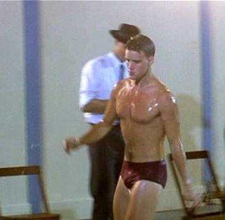 jesse spencer underwear - speedo - swimming