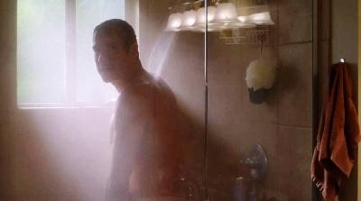 john corbett shirtless in the shower