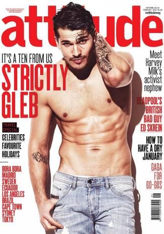 Gleb Savchenko gay - attitude magazine