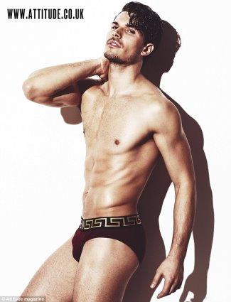 Gleb Savchenko underwear gay