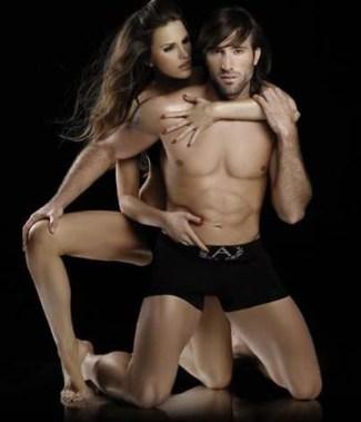 MARIANO PAVONE andros mens underwear - black boxers