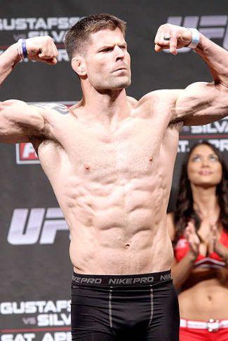 brian stann underwear - weigh in photo - mma fighter