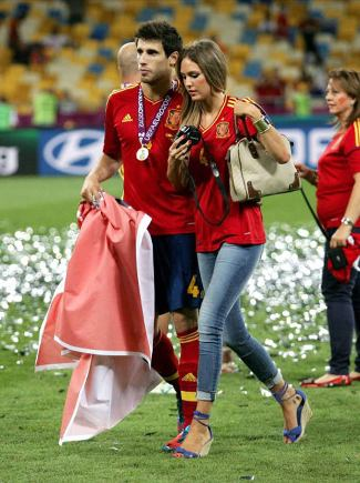 javi martinez girlfriend - Mary Imízcoz