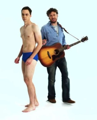 jim parsons underwear - briefs - stand up to cancer - up to u and me video