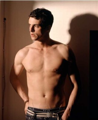 matthew goode shirtless peekabo underwear