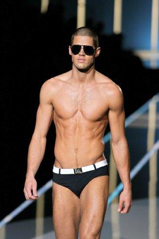 chad white underwear model - ex baseball player