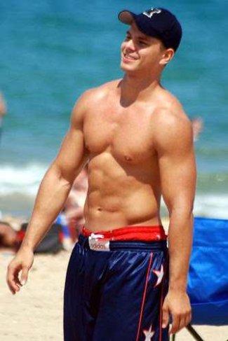 david wright shirtless photo - him or not