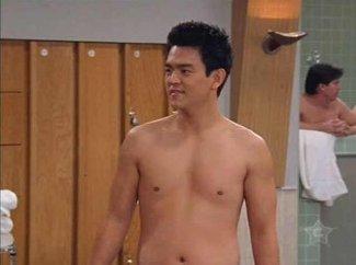 john cho sexy shirtless