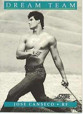 jose canseco shirtless baseballer