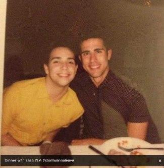 ronnie barcena with lazaro arbos