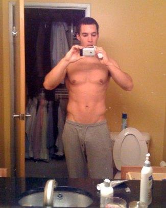 shirtless baseball players - grady sizemore