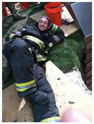 taylor kinney fireman uniform